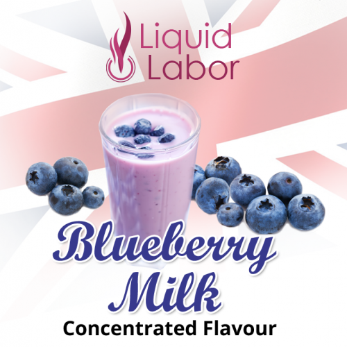 Blueberry Milk