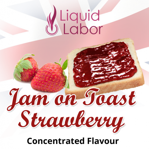 Jam on Toast Strawberry